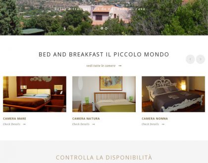 Bed and Breakfast - Il Piccolo Mondo