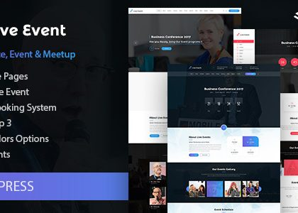 Live Event - Single Conference, Event, Meetup WordPress Theme (Events)