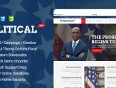 PoliticalWP - Multipurpose Political, Campaign, Election WordPress Theme (Political)