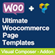 Ultimate Woocommerce Page Templates Builder | Visual Composer add-on (Add-ons)