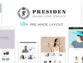 Presiden - Multi Kinds Store Responsive WordPress Theme (WooCommerce)