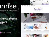 Sunrise - An Elegant WordPress Blog Theme (Personal)