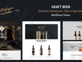 Craft Beer - Brewery or Pub WordPress Theme (Restaurants & Cafes)