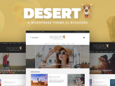 Desert - A Responsive WordPress Blog Theme (News / Editorial)