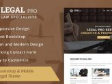 Legal Pro - Law/Legal Business WordPress Theme (Business)