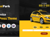 TaxiPark - Taxi Service Company WordPress Theme (Corporate)