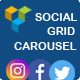 Visual Composer - Facebook,Twitter,Instagram Social Streams Grid With Carousel (Add-ons)