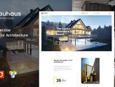 Bauhaus - Architecture & Interior WordPress Theme (Business)