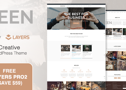 Ceen | MultiPurpose WordPress Theme (Business)