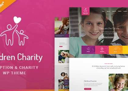 Children Charity - Nonprofit & NGO WordPress Theme with Donations (Charity)
