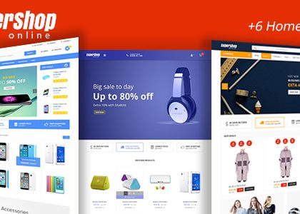 Super Shop - Market Store Responsive WooCommerce WordPress Theme (WooCommerce)