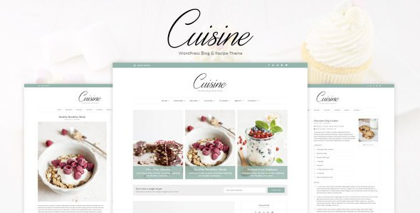Cuisine - WordPress Blog & Recipe Theme (Blog / Magazine)