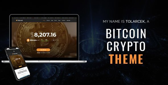 Tolarcek - A Bitcoin & CryptoCurrency WordPress Blog Theme (Personal)
